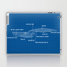 ENTERPRISE NCC-1701-D Laptop & iPad Skin