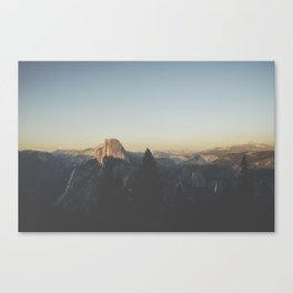 Half Dome VI Canvas Print