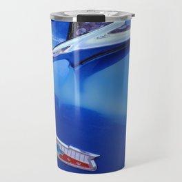 Blue Bel Air Hood Ornament Travel Mug