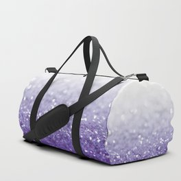 MERMAIDIANS PURPLE GLITTER Duffle Bag