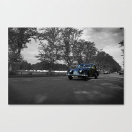 Vintge car in York Canvas Print