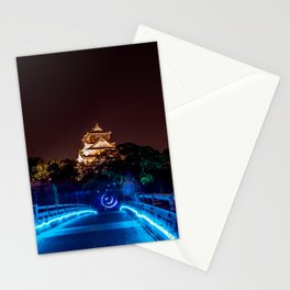 Magic Osaka Night. Japan in June 2019 Stationery Cards