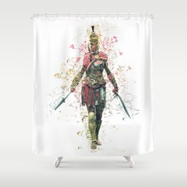 abstrac collosal 1 Shower Curtain