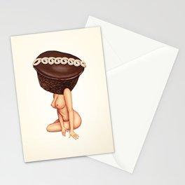 Cupcake Girl Stationery Cards