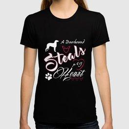Deerhound Dad Funny Gift Shirt T-shirt