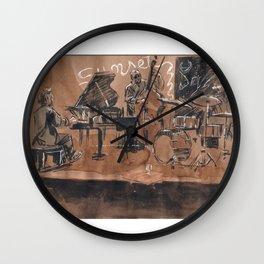 Jazz Coffee #1 Wall Clock