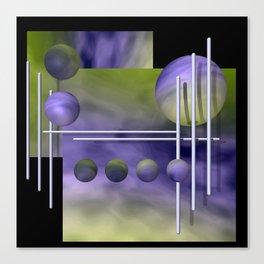 liking geometry -3- Canvas Print
