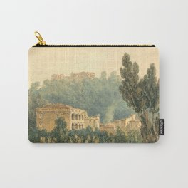 """J.M.W. Turner """"In the Valley Near Vietri"""" Carry-All Pouch"""