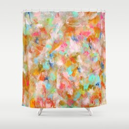 fair weather Shower Curtain