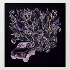 Toot Art Print