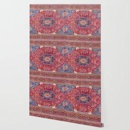 Qashqa'i  Antique Fars Persian Rug Wallpaper