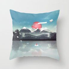 Fortuna's Message Throw Pillow
