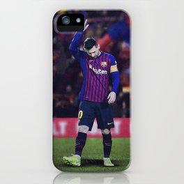 Messi 10 iPhone Case