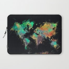 world map 107 #worldmap #map Laptop Sleeve