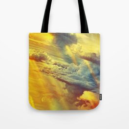 Flying in height Tote Bag