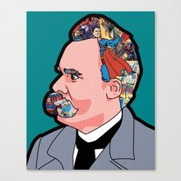 Mix - Nietzsche Canvas Print
