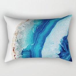 Agate Watercolor 2 Rectangular Pillow