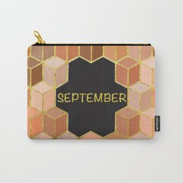 Cubes Of September Carry-All Pouch