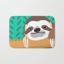 Brad Sloth Bath Mat