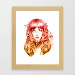 Jem Framed Art Print