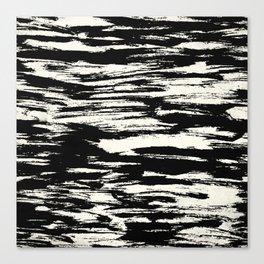Brush Stripe 2 Canvas Print