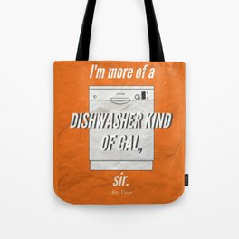 A Dishwasher Kind of Gal Tote Bag