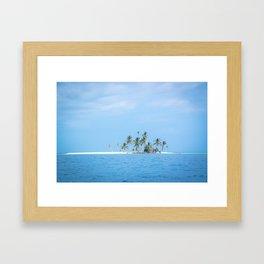 The San Blas Islands in Panama Framed Art Print