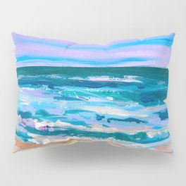 Wave. Beach Painting Series No.12 Pillow Sham