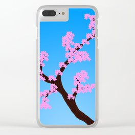 A sign of Spring Clear iPhone Case
