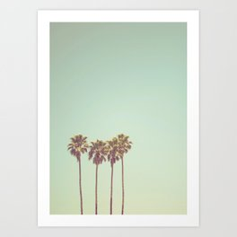 California Dreams Art Print