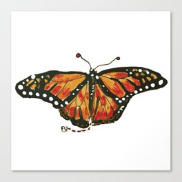fu butterfly Canvas Print