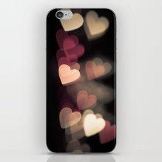 Valentine in pink iPhone & iPod Skin