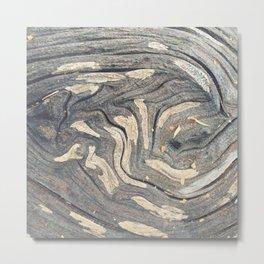 Cypress Driftwood Metal Print