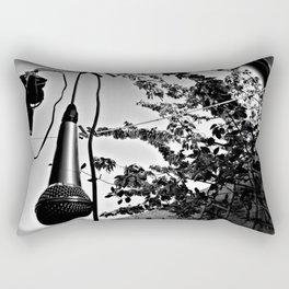 Musicians Hangout Rectangular Pillow