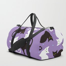 Blueberry Cats Duffle Bag