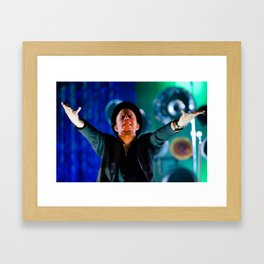 Tom Waits - Pagan Priest Framed Art Print