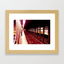 Underground Infrastructure Framed Art Print