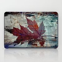 poem iPad Cases featuring Autumn Poem by A.K.H.