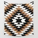Urban Tribal Pattern No.13 - Aztec - Concrete and Wood by zoltanratko