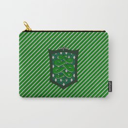 HP Slytherin House Crest Carry-All Pouch