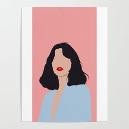 beauty face Poster