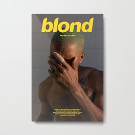 FrankOcean Blond Album Cover Poster Print Wall Art A3, Custom Poster Metal Print