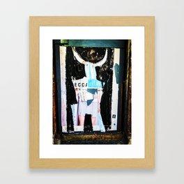 Wall - SOHO NYC Framed Art Print