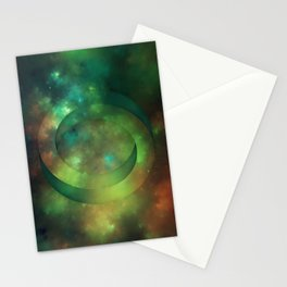 Impossible Circle Stationery Cards