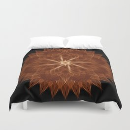 Earth Curves Mandala Duvet Cover