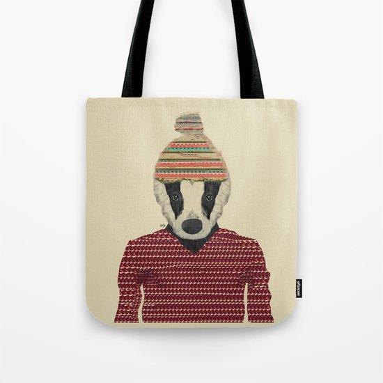 seb the badger  Tote Bag