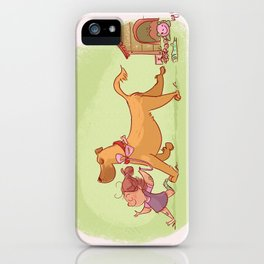 Little neighbor! Pets! iPhone Case