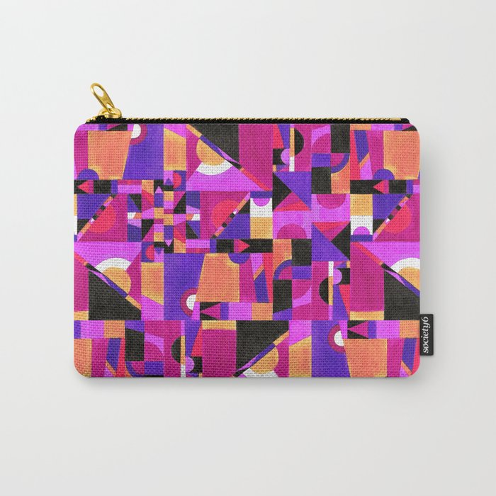 Geomtropy Carry-All Pouch