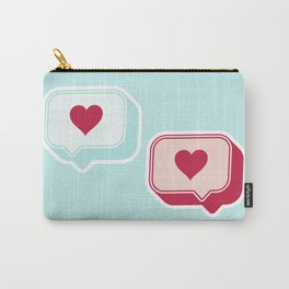 Heart Chats Carry-All Pouch