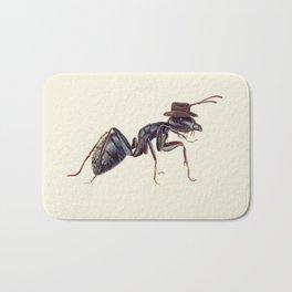 Ant with a Cowboy Hat Bath Mat